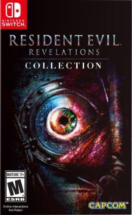 Carátula de Resident Evil: Revelations Collection para Nintendo Switch