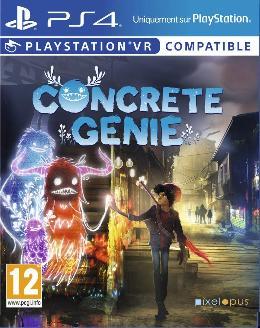 Carátula de Concrete Genie para PlayStation 4