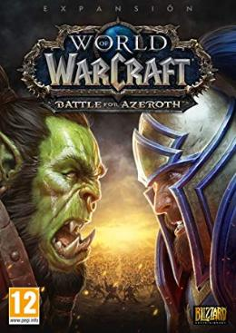 Carátula de World of Warcraft: Battle For Azeroth para PC