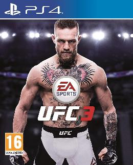 Carátula de EA Sports UFC 3 para PlayStation 4