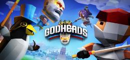 Carátula de Oh My Godheads para PlayStation 4