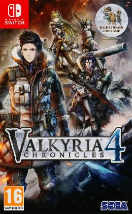 Carátula de Valkyria Chronicles 4 para Nintendo Switch