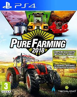 Carátula de Pure Farming 2018 para PlayStation 4