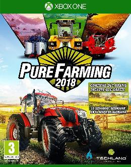 Carátula de Pure Farming 2018 para Xbox One