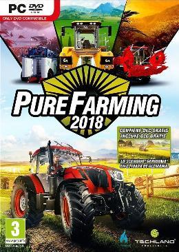Carátula de Pure Farming 2018 para PC