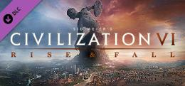 Carátula de Sid Meier's Civilization VI: Rise and Fall para PC