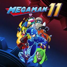 Carátula de Mega Man 11 para Nintendo Switch