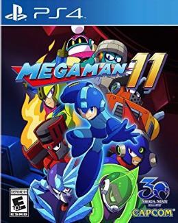 Carátula de Mega Man 11 para PlayStation 4