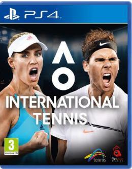 Carátula de AO International Tennis para PlayStation 4