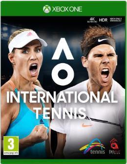 Carátula de AO International Tennis para Xbox One