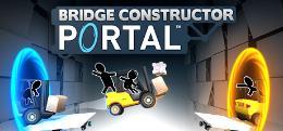 Carátula de Bridge Constructor Portal para PlayStation 4