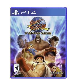 Carátula de Street Fighter 30th Anniversary Collection para PlayStation 4