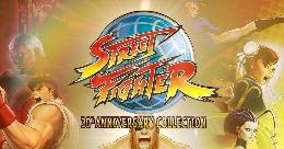 Carátula de Street Fighter 30th Anniversary Collection para PC
