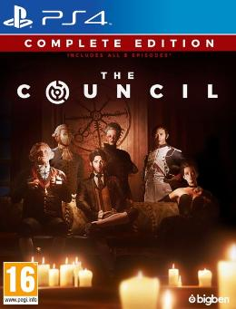 Carátula de The Council para PlayStation 4