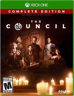 Carátula de The Council para Xbox One