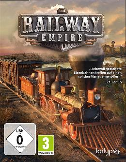 Carátula de Railway Empire para PC