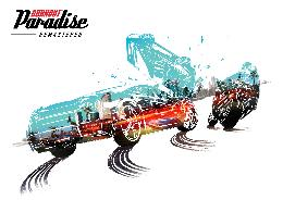 Carátula de Burnout Paradise Remastered para PlayStation 4