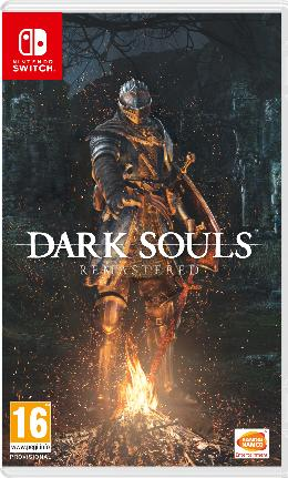 Carátula de Dark Souls Remastered para Nintendo Switch