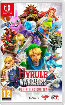 Carátula de Hyrule Warriors: Definitive Edition