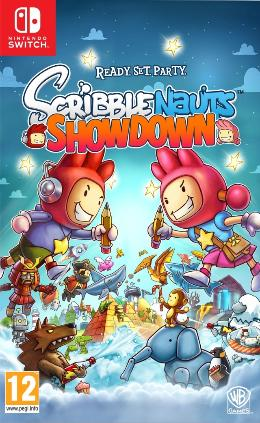 Carátula de Scribblenauts Showdown para Nintendo Switch