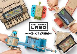 Carátula de Nintendo Labo: Toy-Con 01 Kit Variado para Nintendo Switch