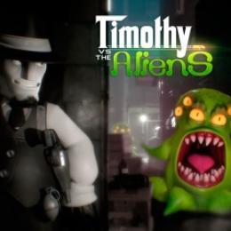 Carátula de Timothy vs The Aliens