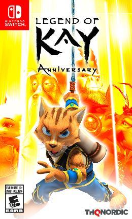 Carátula de Legend of Kay Anniversary para Nintendo Switch