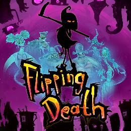 Carátula de Flipping Death para Nintendo Switch