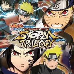 Carátula de Naruto Shippuden: Ultimate Ninja Storm Trilogy para Nintendo Switch