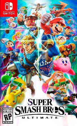 Carátula de Super Smash Bros Ultimate