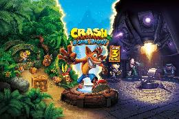 Carátula de Crash Bandicoot N. Sane Trilogy para Nintendo Switch