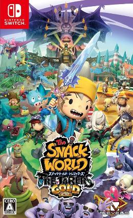 Carátula de The Snack World: TreJarers Gold para Nintendo Switch