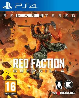 Carátula de Red Faction: Guerrilla Re-Mars-tered para PlayStation 4