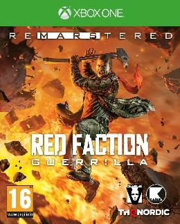 Carátula de Red Faction: Guerrilla Re-Mars-tered para Xbox One