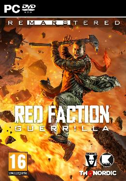 Carátula de Red Faction: Guerrilla Re-Mars-tered para PC