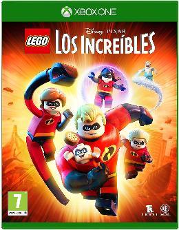 Carátula o portada Europea del juego LEGO Los Increibles para Xbox One