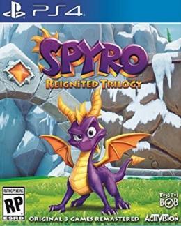 Carátula de Spyro Reignited Trilogy para PlayStation 4