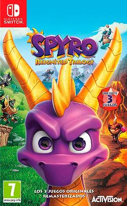 Carátula de Spyro Reignited Trilogy para Nintendo Switch