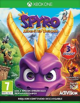 Carátula de Spyro Reignited Trilogy para Xbox One