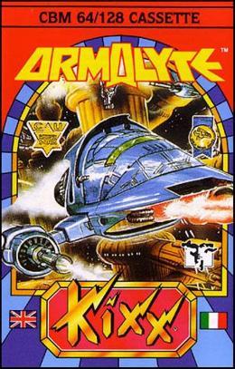 Carátula de Armalyte para Commodore 64