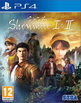 Carátula de Shenmue I & II para PlayStation 4