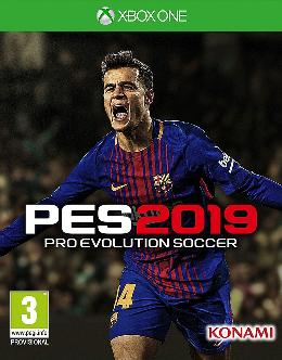 Carátula de Pro Evolution Soccer 2019 para Xbox One
