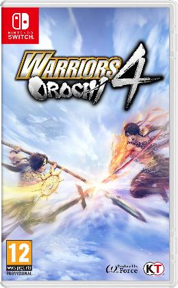 Carátula de Warriors Orochi 4 para Nintendo Switch