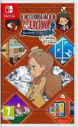 Carátula de El misterioso viaje de Layton: Katrielle y la conspiración de los millonarios - Edición Deluxe