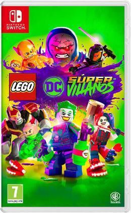 Carátula de LEGO DC Súper-Villanos para Nintendo Switch