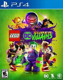 Carátula de LEGO DC Súper-Villanos para PlayStation 4