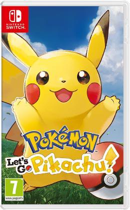 Carátula de Pokémon: Let's Go, Pikachu! para Nintendo Switch
