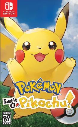 Carátula de Pokémon Let's Go Pikachu para Nintendo Switch