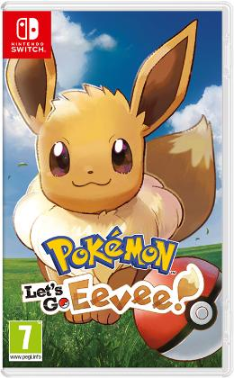 Carátula de Pokémon: Let's Go, Eevee! para Nintendo Switch