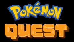 Carátula o portada Logo Oficial del juego Pokémon Quest para iPhone / iPod Touch
